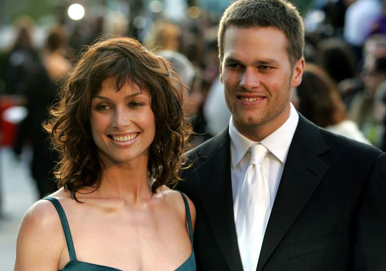Tom Brady and Bridget Moynahan, Tom Brady ex girlfriend Bridget Moynahan, Vanity Fair Oscar Party 2005