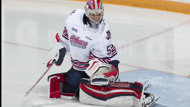 Jeremy Brodeur is a goalie with the Oshawa Generals of the OHL. (Oshawa Generals)