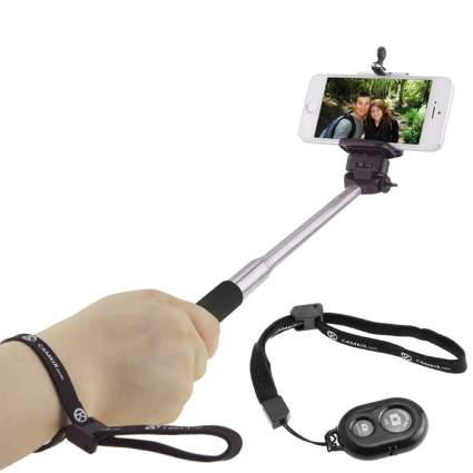 selfie stick with remote