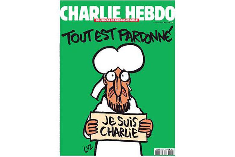 Charlie Hebdo Cover Je Suis Charlie