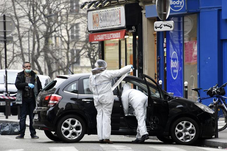 charlie hedbo terrorist car