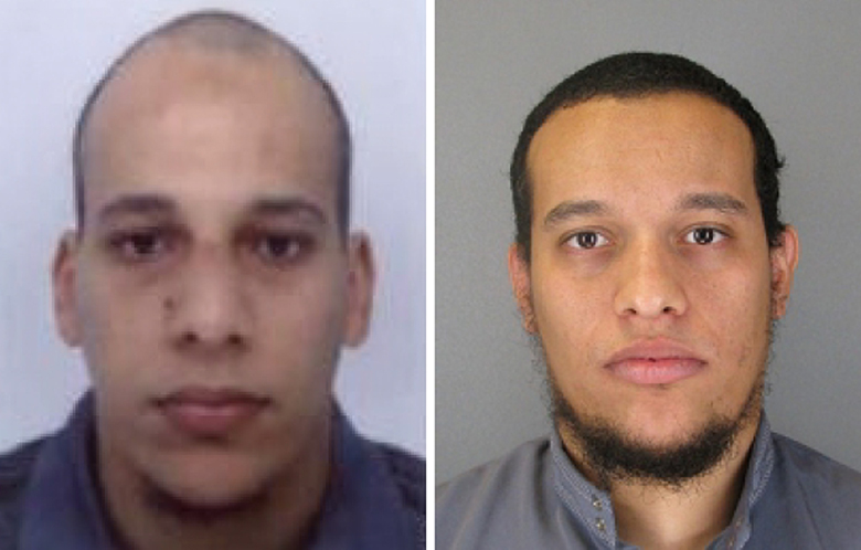cherif said kouachi, charlie hebdo terror suspects