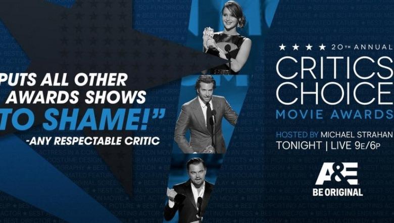 Critics Choice Movie Awards 2015, Critics Choice Awards 2015 Live Stream, How To Watch Critics Choice Movie Awards Online