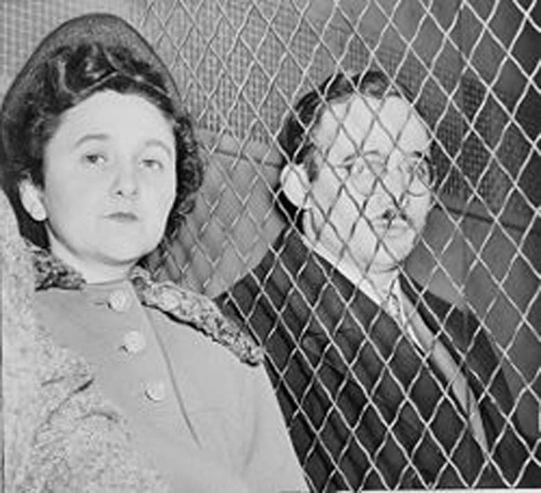 Julius and Ethel Rosenberg were executed as spies in 1951. (Wikipedia)