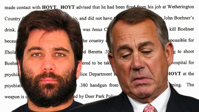michael robert hoyt john boehner plot murder assassin bartender