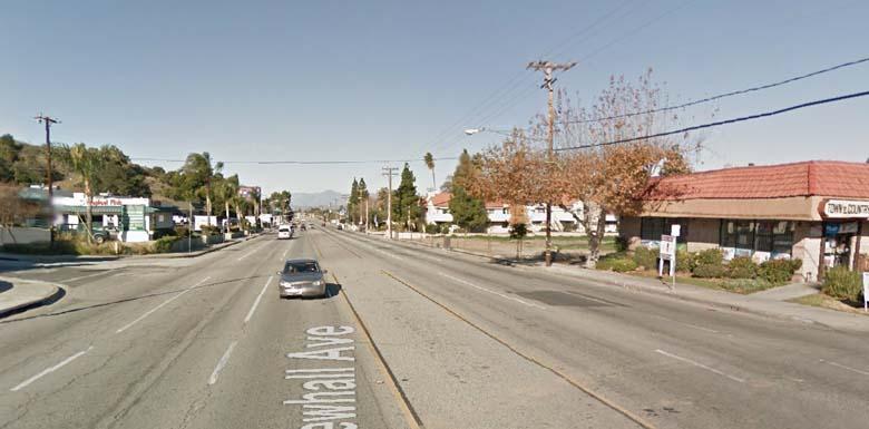 Ellorah was found in a truck along Newhall Avenue in Santa Clarita, California. (Google Street View)