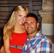 Ninkovich and wife Paige. (Twitter)