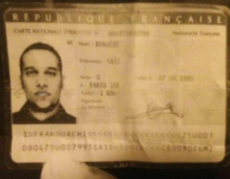 Said Kouachi Passport Photo
