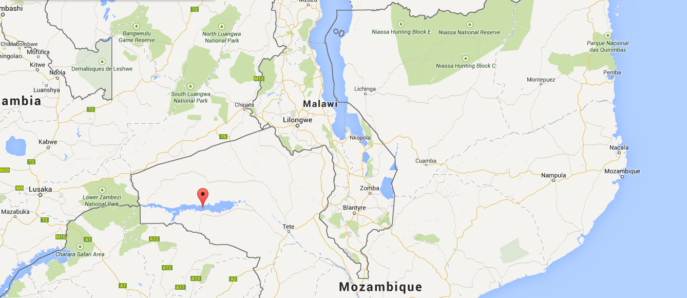 The tragedy happened in the Cahora Bassa district in western Mozambique. (Google Maps)