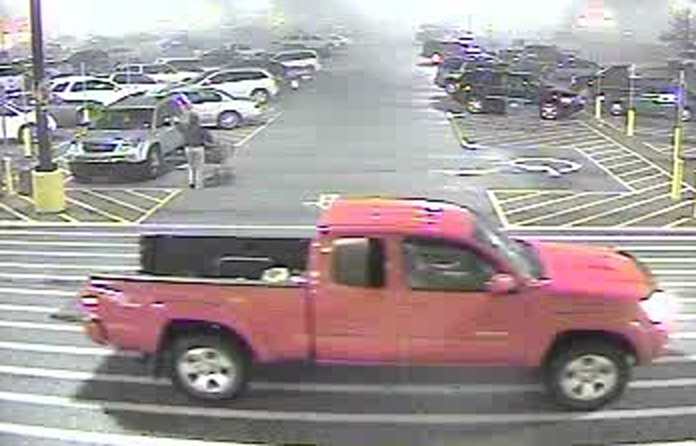 The truck the couple are believed to be driving. (Handout)