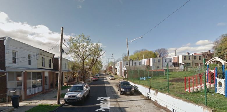 The horrible incident happened along the 300 block of Poplar Street in Darby. (Google Street View)