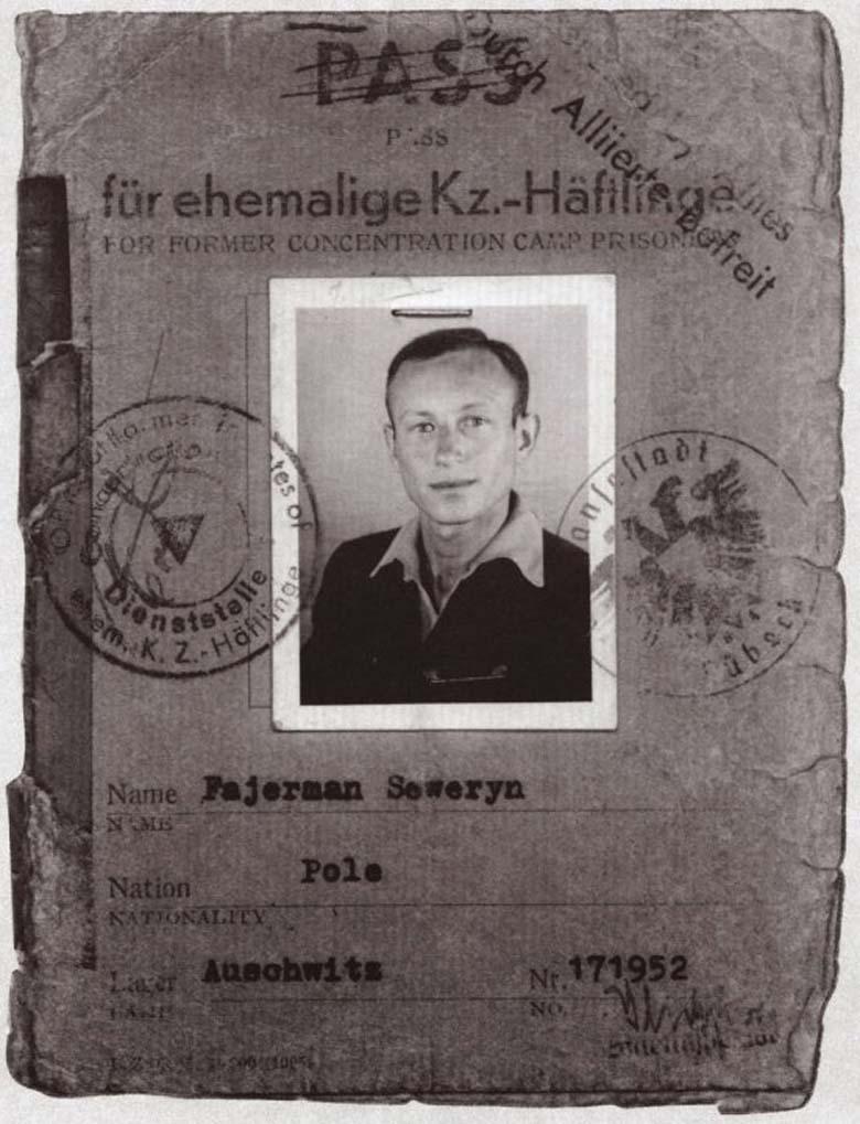 Severin Fayerman  Auschwitz