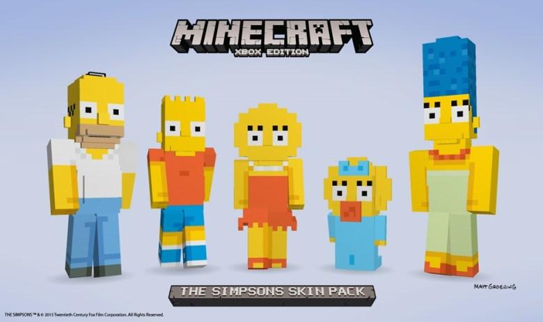 minecraft the simpsons