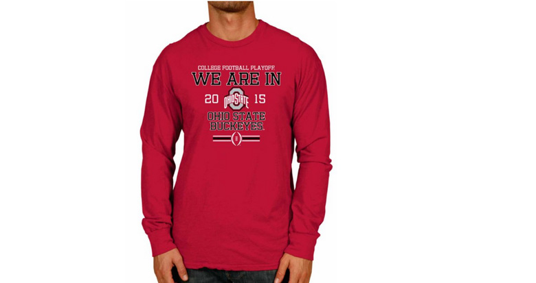 Ohio State shirts