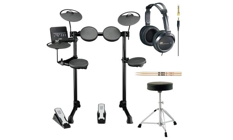 Image ofyamaha dtx400k electronic drum set