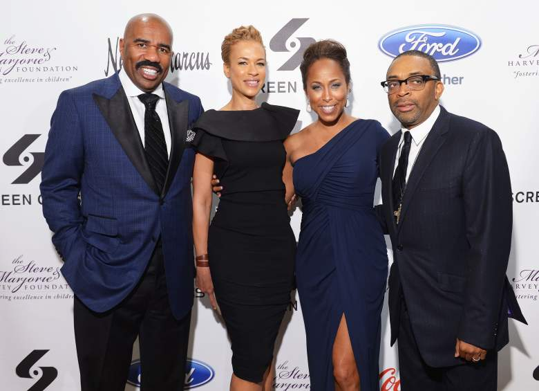 steve harvey, tonya lewis lee, spike lee, marjorie harvey