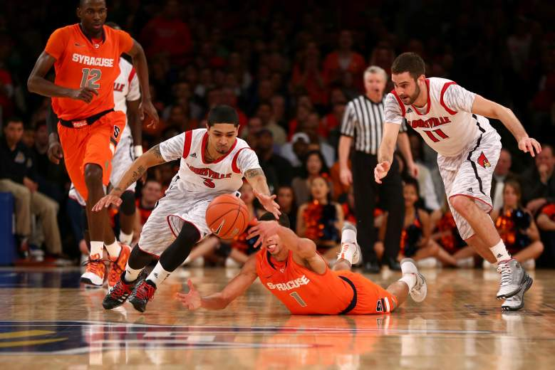 Syracuse and Louisville meet Wednesday night for the first time as ACC foes. (Getty)