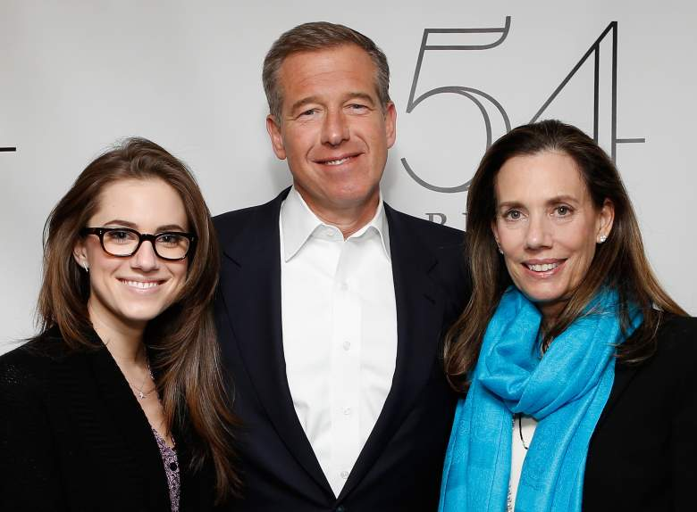 Brian and Jane with daughter Allison Williams (Getty)