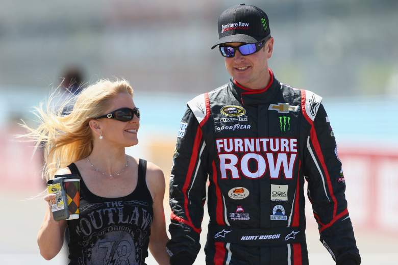 Busch with Driscoll in 2013. (Getty)
