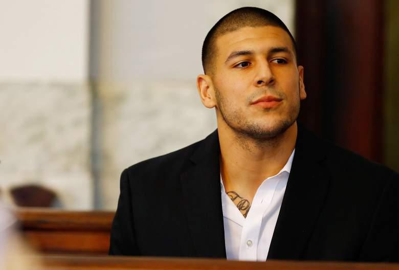 The Aaron Hernandez murder trial resumed Friday. (Getty)