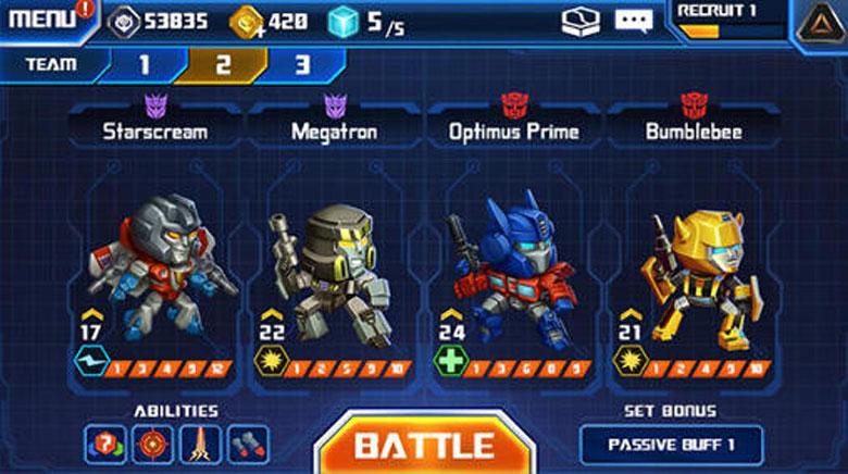 Transformers Battle Tactics  Tips