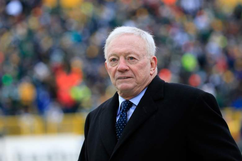 Cowboys owner Jerry Jones. (Getty)