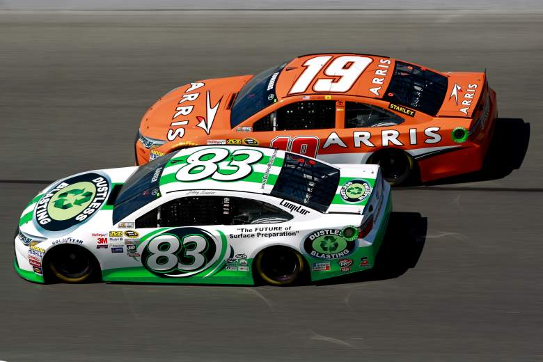 Carl Edwards (No. 19) is one of the favorites to win Daytona Duel No. 2 Thursday night. (Getty)
