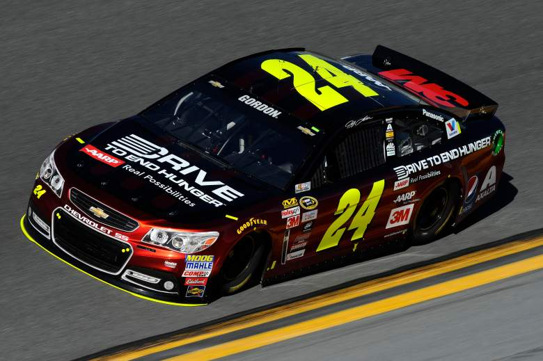 Jeff Gordon's final Daytona 500 ended in a crash. (Getty)