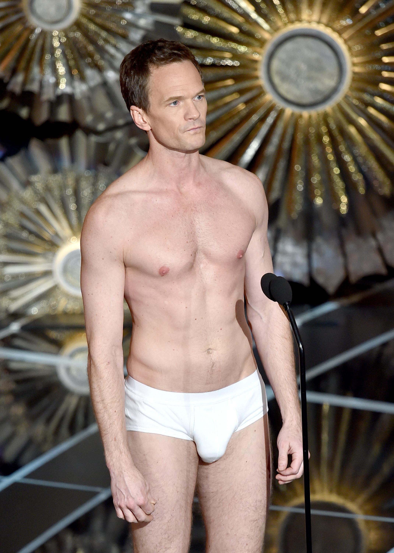 Neil Patrick Harris Underwear, Neil Patrick Harris Birdman, Neil Patrick Harris Tighty Whities, Neil Patrick Harris Oscars 2015
