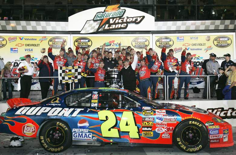 Jeff Gordon has won the Daytona 500 three times, the last in 2005. (Getty)