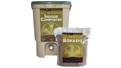 SCD Probiotics All Seasons Indoor Composter Kit, best compost bins
