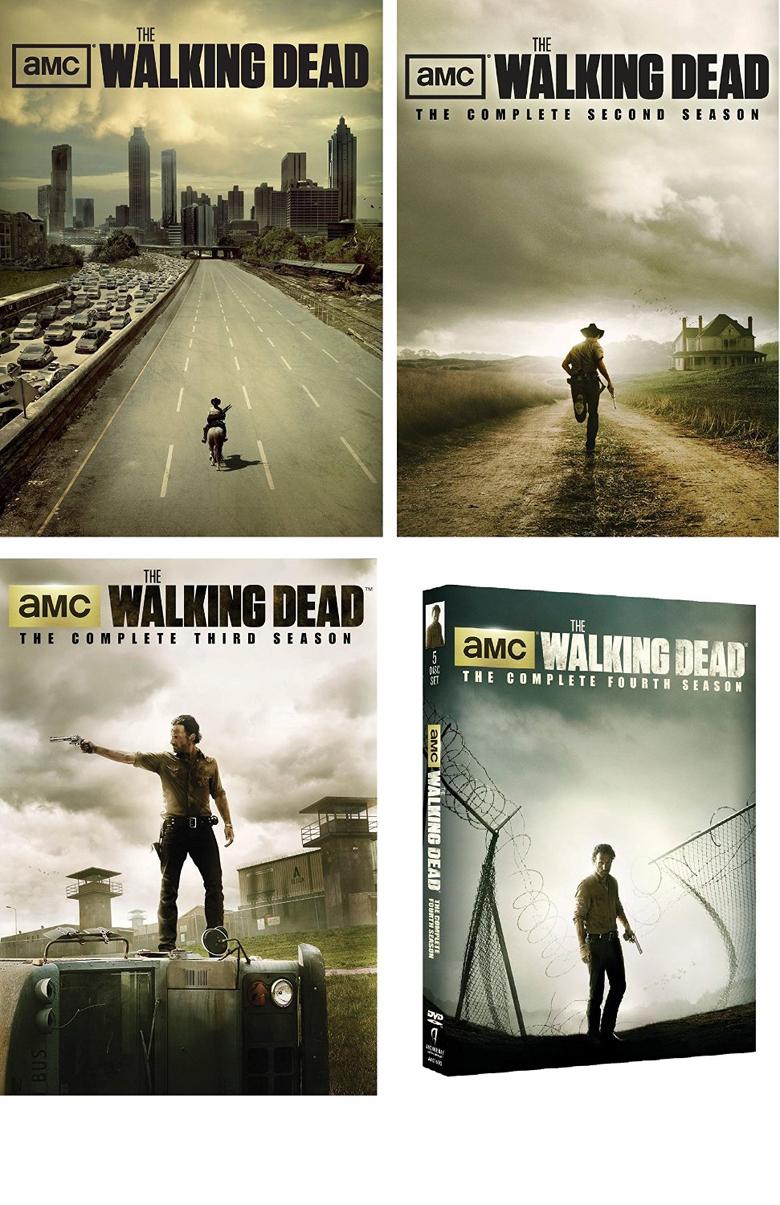 The Walking Dead Seasons 1 - 4