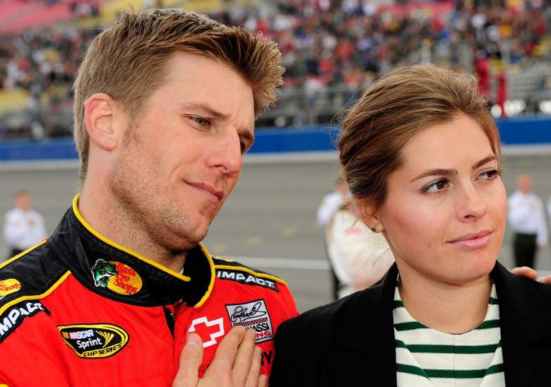 McMurray and his wife Christy (Getty)