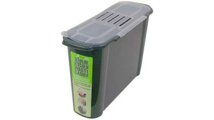 Bosmere K779 Slim Kitchen Recycled Plastic Compost Caddy , best compost kitchen counter top bin for sale
