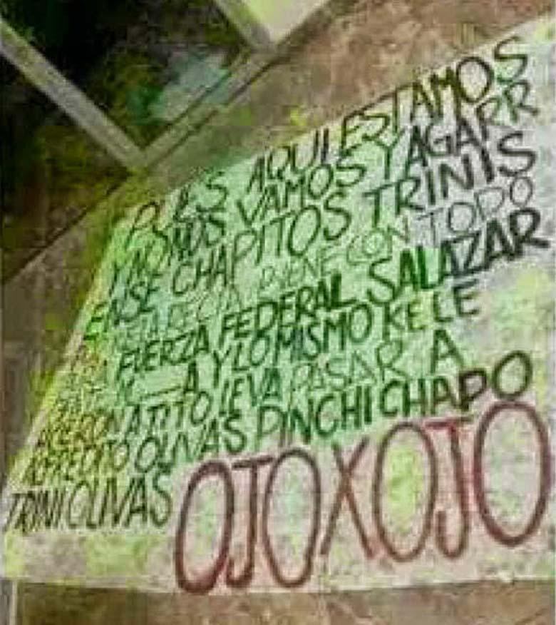 Alfredito Olivas Death Threats