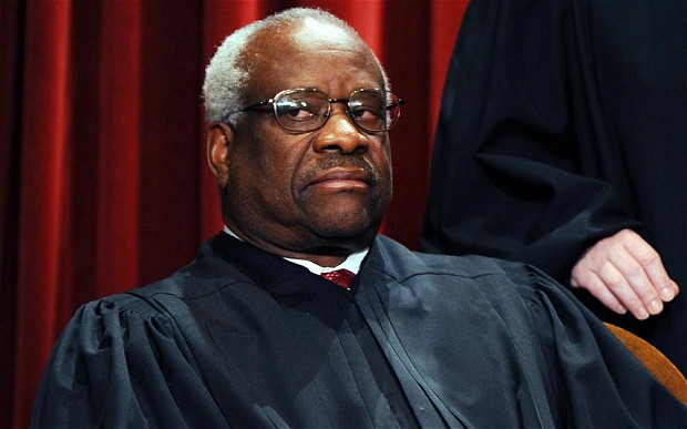 Supreme Court Justice Clarence Thomas. (Twitter)
