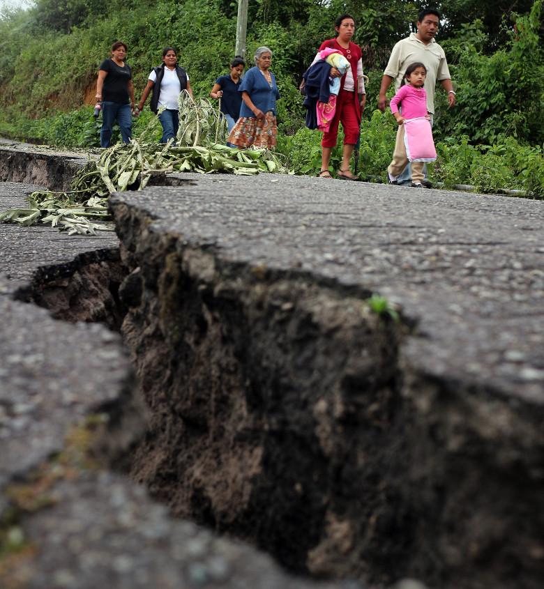 Earthquake, Mexico