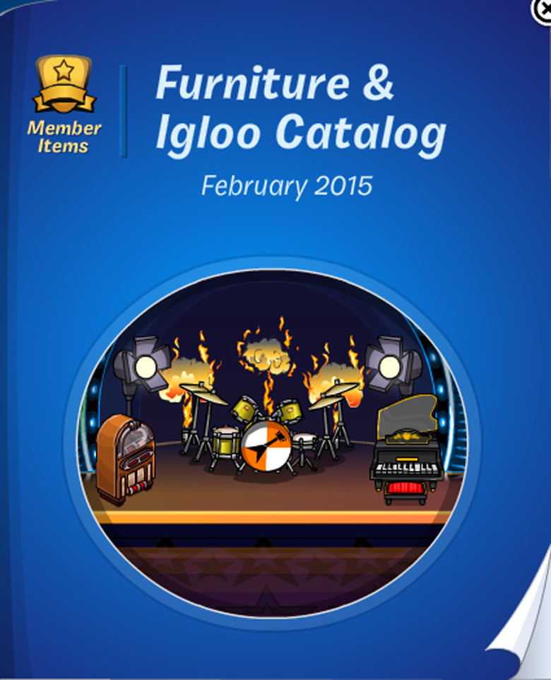 Club Penguin Furniture and Igloo Catalog