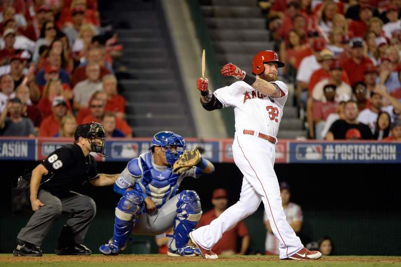 Josh Hamilton is in New York meeting with Major League Baseball and facing potential disciplinary action. (Getty)