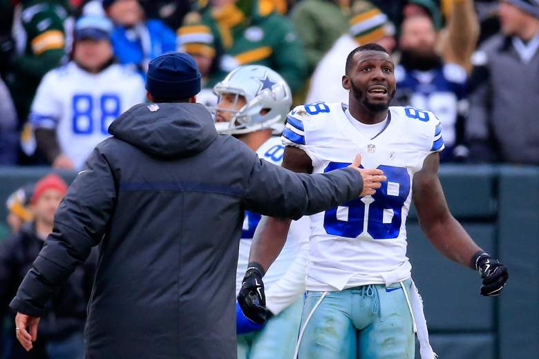Rumors have surfaced of a 'Ray Rice-style' video involving Cowboys receiver Dez Bryant. (Getty)