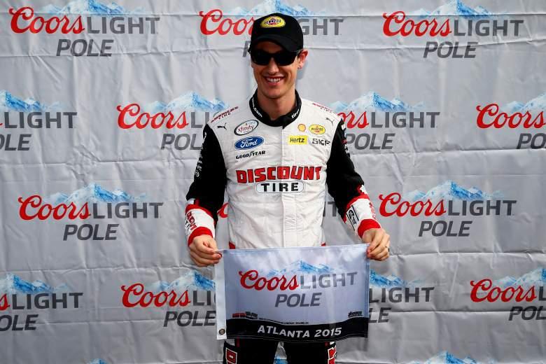 Daytona 500 winner Joey Logano will start on the pole in Sunday's Folds of Honor QuikTrip 500 in Atlanta. (Getty)
