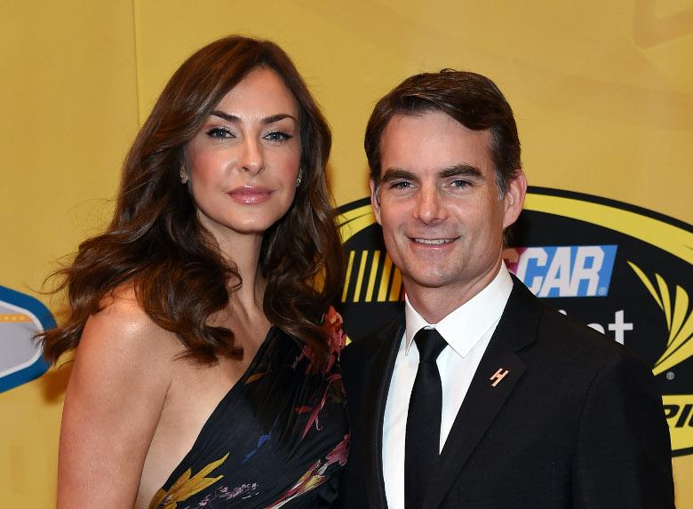 Jeff Gordon,  Ingrid Vandebosch, NASCAR, Daytona