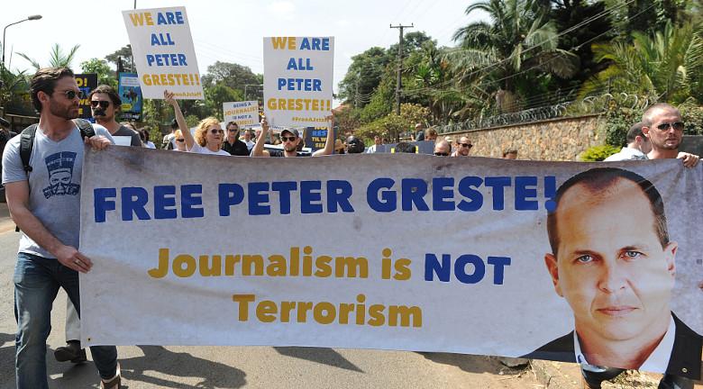 Peter Greste, Al-Jazeera, Egypt