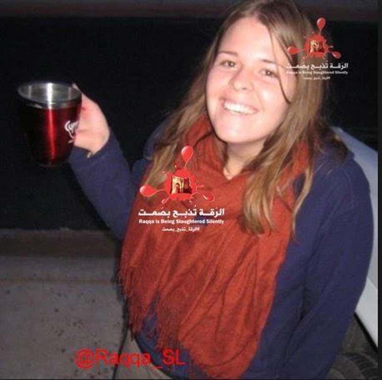 Kayla Mueller Syria Dead