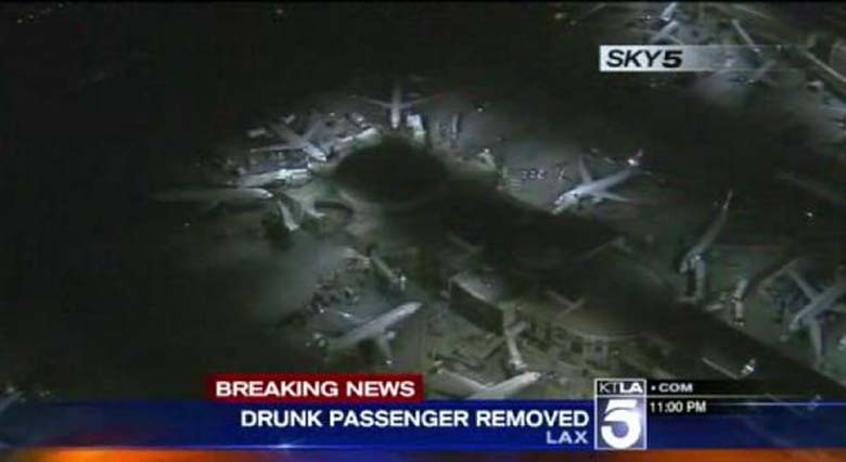 Delta Airlines flight from Atlanta to LAX on Wednesday night.