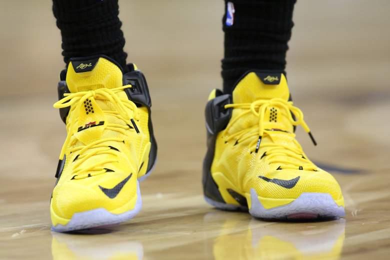 LeBron James shoes, LeBron James Nike shoes, LeBron James shoe deal