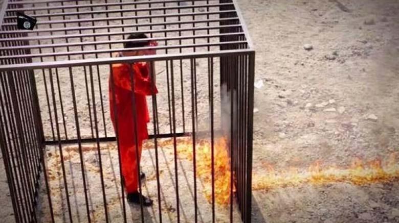 Maaz al-Kassasbeh Dead Burned Alive Cage