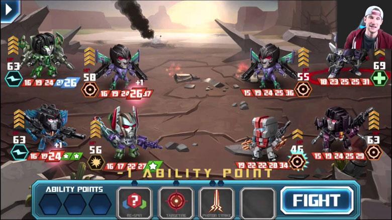 Transformers Battle Tactics