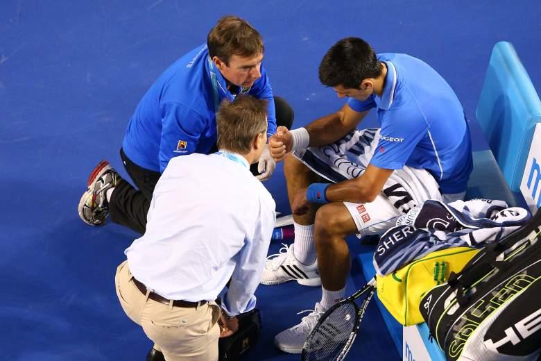 Novak Djokovic thumb injury, Novak Djokovic vs. Andy Murray