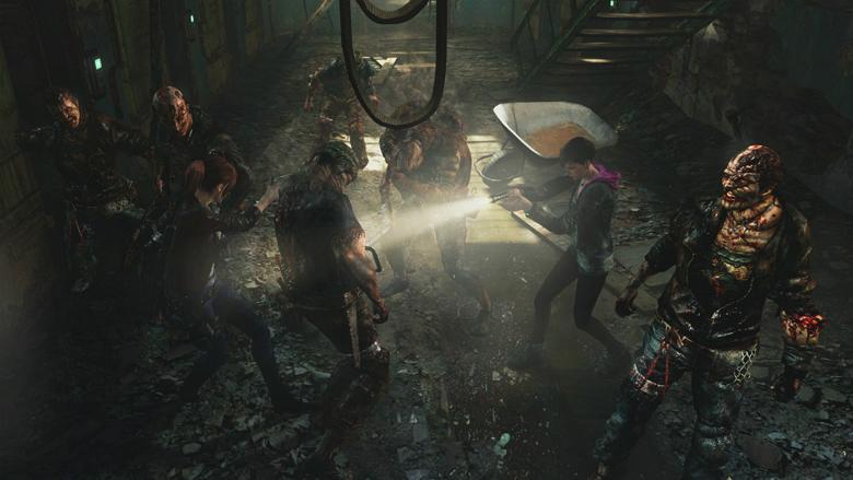 Resident Evil Revelations 2 Afflicted